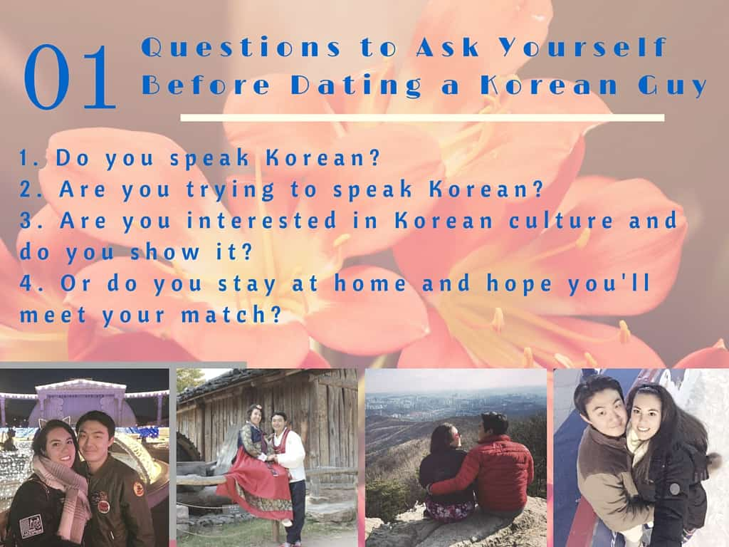 Dating korean girl advice page