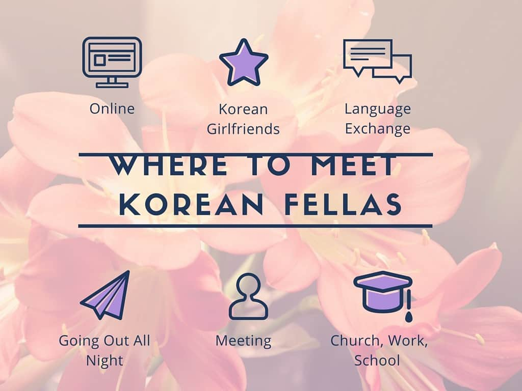 Dating in Korea 101: Where to meet Korean fellas, how to get them to