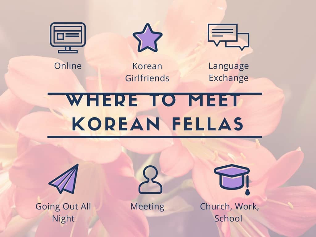 How to meet korean guys online