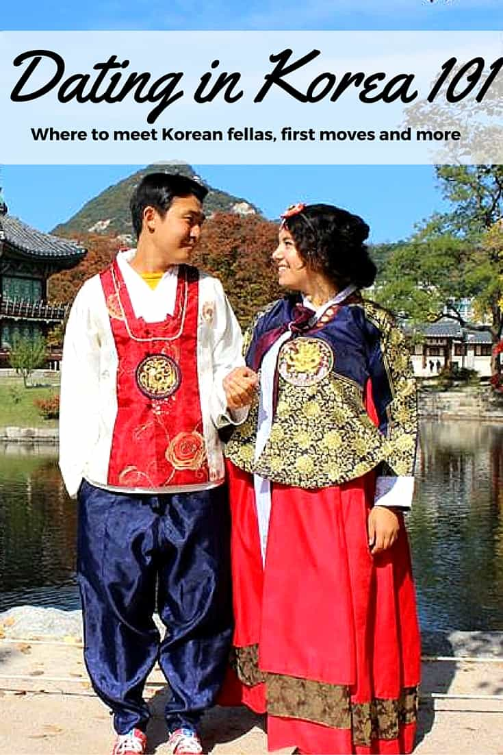 Dating a south korean man