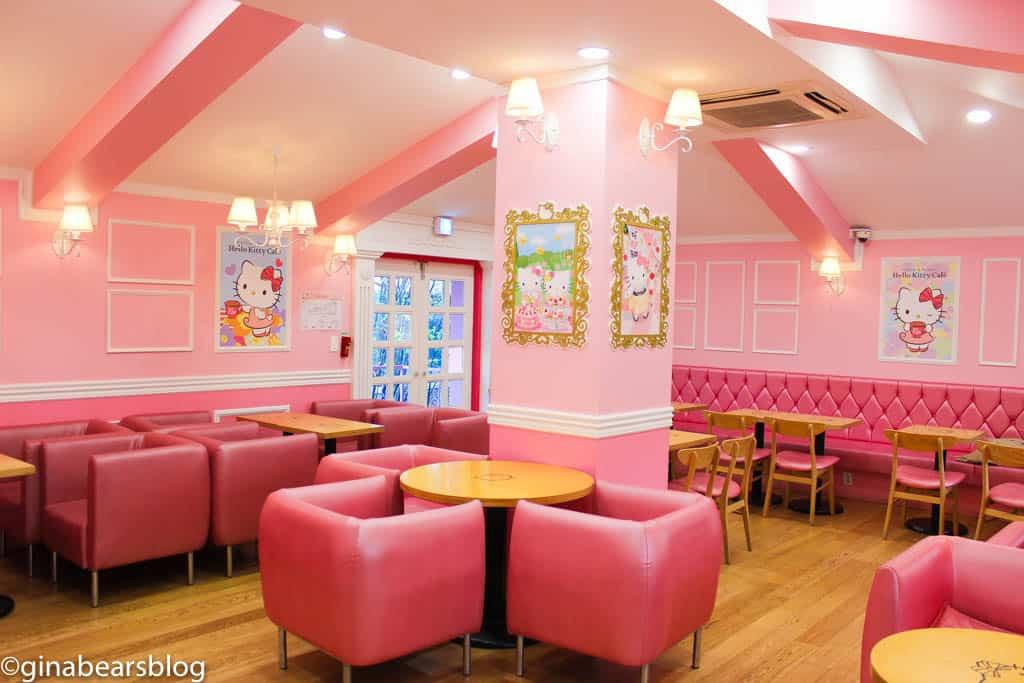 Cutest Hello Kitty Cafe In Seoul Gina Bear S Blog