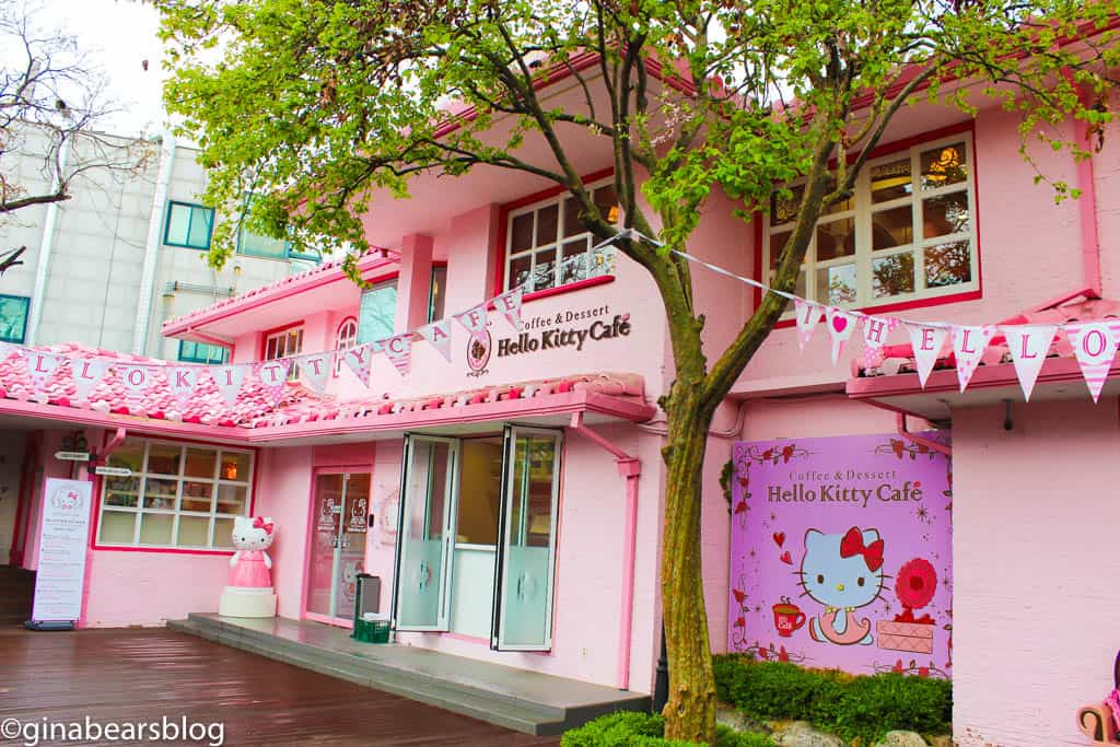 Cutest Hello Kitty Cafe In Seoul Gina Bear S Blog