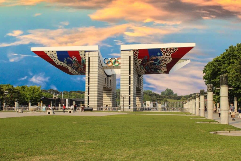 Fun Things To Do At Seoul Olympic Park Gina Bear S Blog